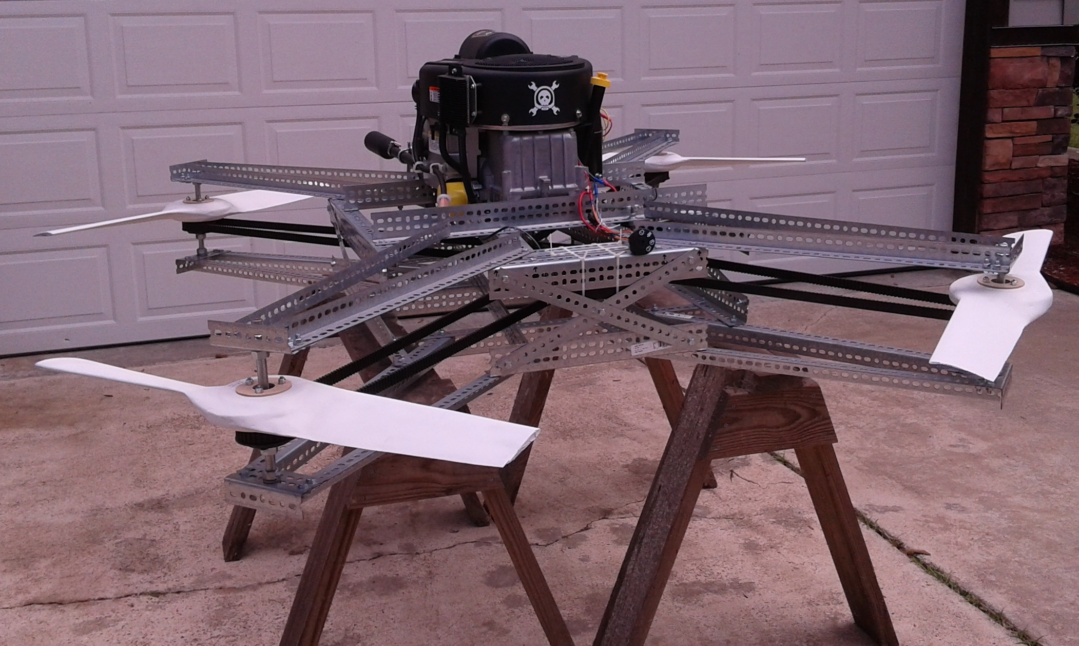 Gas-powered quadcopter second Pixhawk-based finalist for The